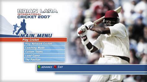 download full version game of cricket 2007 brian lara international cricket 2007 download free pc