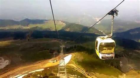 gulmarg gondola in january 2015 youtube apharwat peak in june gulmarg to apharwat peak gondola
