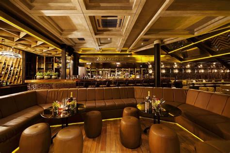 Kitchen Counter Decorating Ideas Pictures a classy whiskey bar with skyline views of jakarta