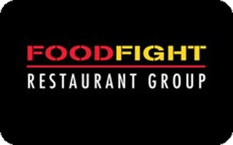 buy food fight restaurant group gift cards giftcardplace - Food Fight Gift Card