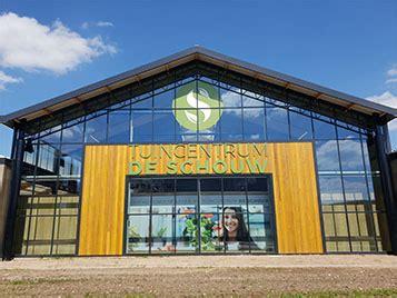 schouw tuincentrum houten instore building holland b v nieuws