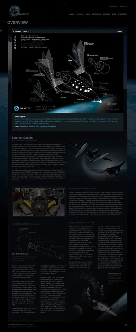 official section 8 website virgin galactic official website on behance