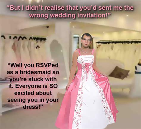 forced womanhood wedding femdom sissy forced feminization art tim didn t notice