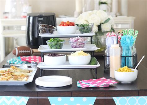 nacho bar topping ideas nacho bar french fries with philips airfryer lifestyle blog