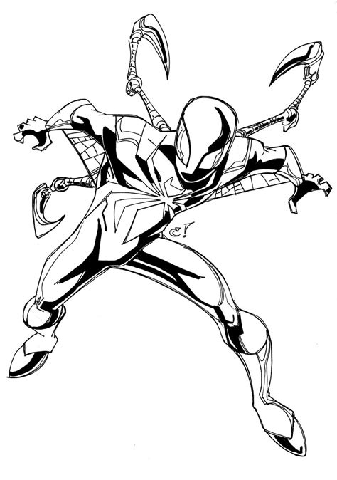 Ironman And Spiderman Coloring Pages | free coloring pages of iron man and spider man