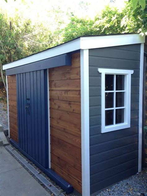 creative diy small storage shed projects