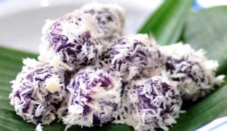 cara membuat onde onde isi ubi klepon keju ubi ungu lovelyninda