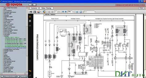 toyota previa tarago repair manuals download wiring diagram electronic parts catalog epc toyota previa tarago service repair manual update 2006 toyota workshop manual
