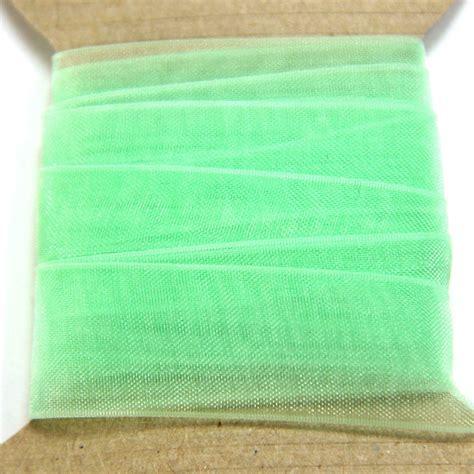 Pastel Organza pastel green organza ribbon bobbin