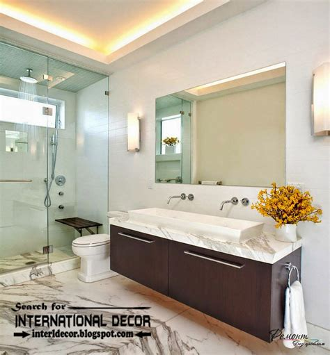 Bathroom Lighting Ideas Ceiling | contemporary bathroom lights and lighting ideas