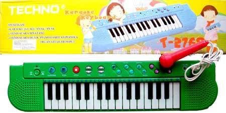 Mainan Mic Nyanyi Karaoke Poli jual piano techno karaoke anak mic dan 26 lagu anak