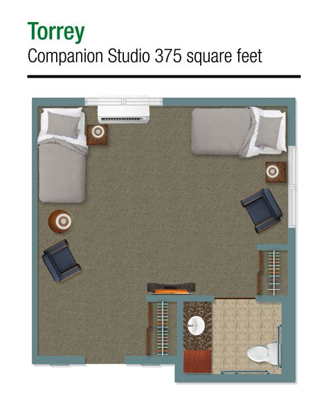 375 square feet memory care room options peaceful pines senior living