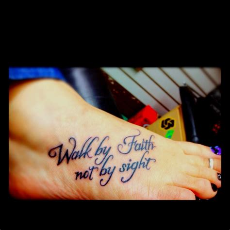 walk by faith not by sight tattoo design walk by faith not by sight tattoos