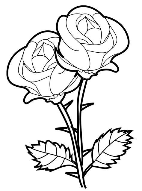 imagenes de rosas grandes para colorear dibujos para pintar de rosas dibujos para colorear de rosas