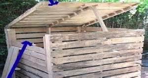 Good Tete De Lit Simple #10: Composteur-bois-palette-ou-bois-recup-diy-deco-jardin.jpg