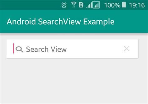 android studio searchview tutorial simple android searchview exle viral android