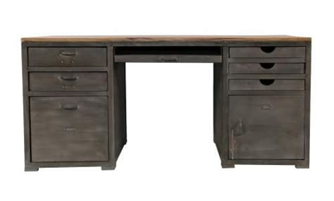 bureau bois et m 233 tal loft