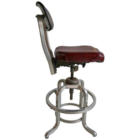 drafting bar stool rare goodform adjustable aluminum drafting stool