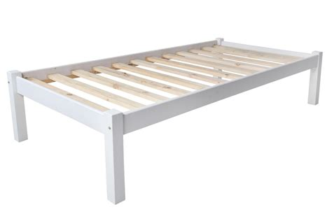 Divan Bed Frame Charlene Solid White Divan Bed Frame Only