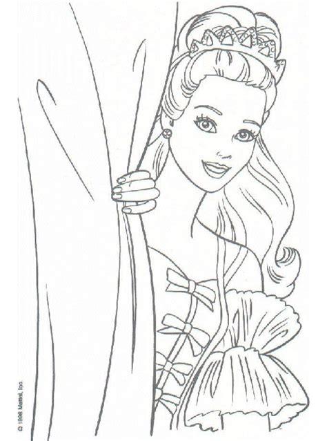 barbie silhouette coloring page mi colecci 243 n de dibujos barbie princesa