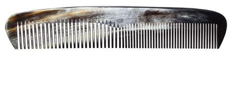 Handmade Combs - handmade horn comb coarse kaufmann mercantile