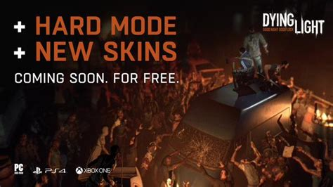dying light dlc ps4 dying light getting new skins and hard mode for free