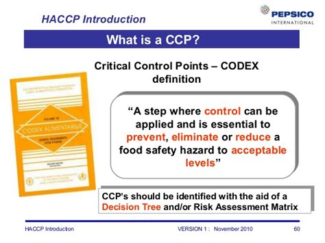 haccp d馭inition cuisine haccp introduction refresher لكل مهندسين الجودة