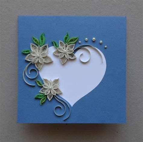 Handmade Paper Wedding Cards - 33 best images about wedding card ideas on