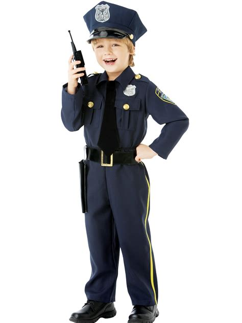 Officer Costume by Child Officer Costume 999664 Fancy Dress