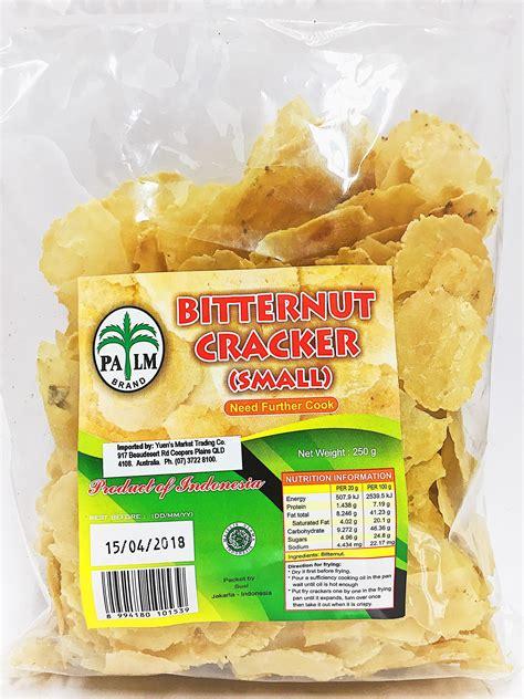 Emping Kalasan Pedas Vegan Vegetarian palm emping bitternut crackers 250g from buy asian food 4u