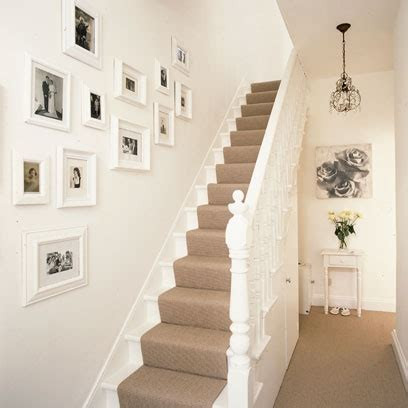 white decor hallway ideas to steal floor and wallpaper ideas red