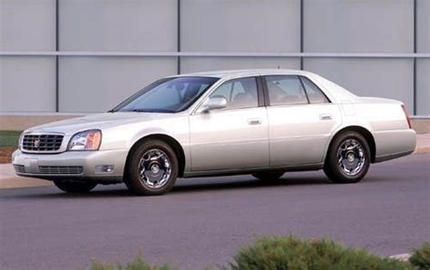 maintenance schedule for 2005 cadillac deville openbay