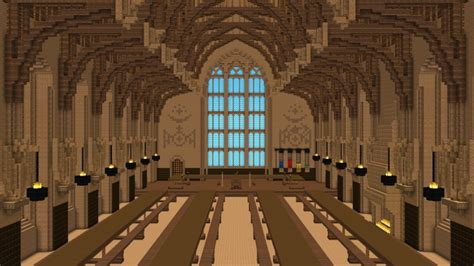 hogwarts great hall the great hall of hogwarts minecraft project