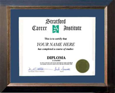 Stratford Mba Requirements by Diploma Career Diploma