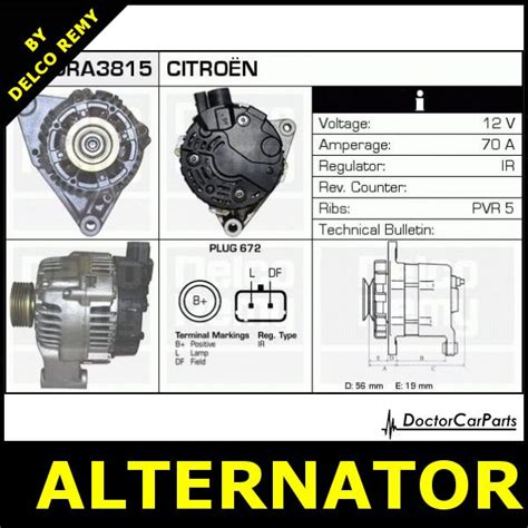 alternator citroen saxo berlingo peugeot 106 partner 306