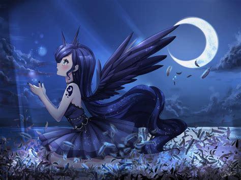 imagenes anime luna princess luna by odaefnyo on deviantart