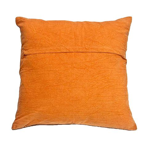 Stitched Pillows tangerine stitched pillow omero home