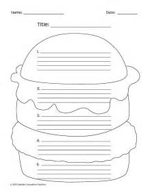 Graphic Organizer For Writing 5 Paragraph Essay by 15 Best Images Of Hamburger Writing Graphic Organizer Essay Printable Hamburger Writing
