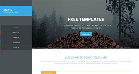 30 free dreamweaver templates design pinterest templates