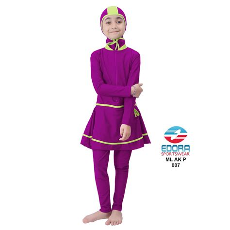 Baju P distributor baju renang anak perempuan edora muslimah ml