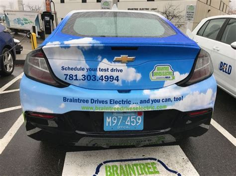 braintree electric light department braintree drives electric program promotes electric