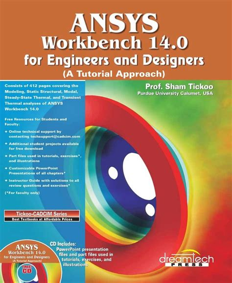 ansys tutorial design optimization pdf ansys book sham tickoo ebook download