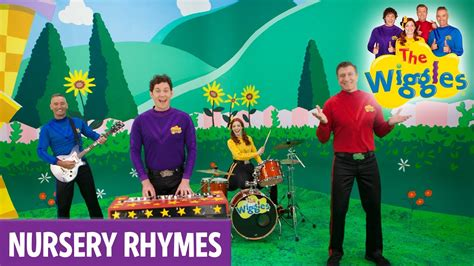 row your boat wiggles the wiggles nursery rhymes abc youtube