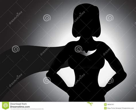 Baju Superman Shadow silhouette royalty free stock photography