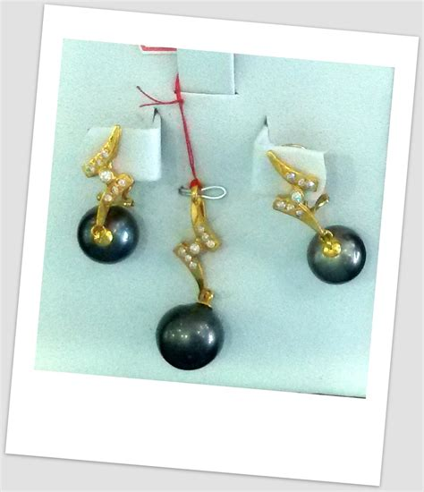 Diskon Penghias Mutiara Emas Murah 07 satu set perhiasan mutiara harga mutiara lombok asli murah toko emas onlineterpercaya jual