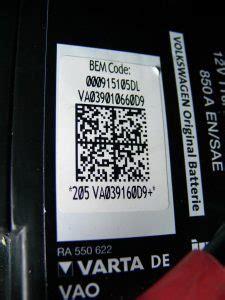 Audi Code Eingeben by Batterie Ersetzen Codieren Mit Vcds F 252 R Audi A6 4f
