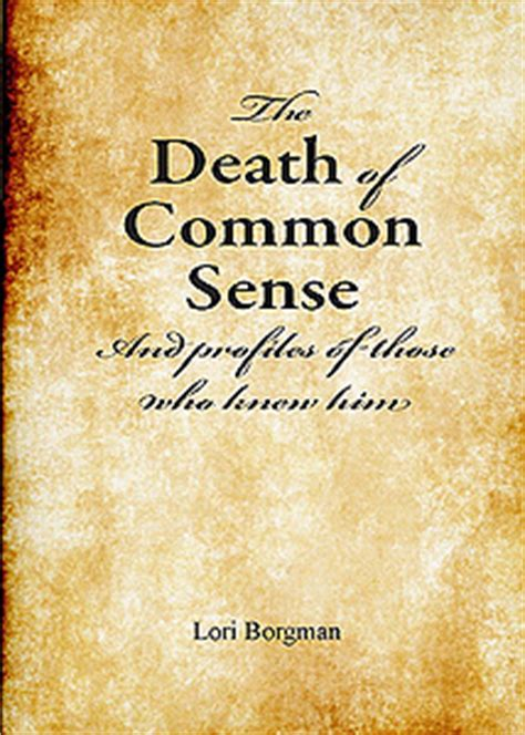 common sense annotated books la mort du bon sens