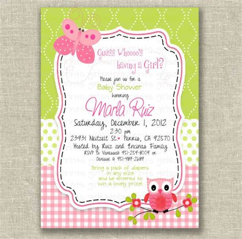 owl themed baby shower invitation template new owl themed baby shower invitation template free