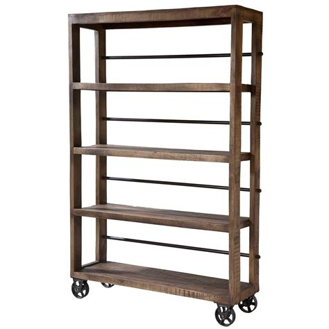 Wooden Pantry Shelving Units by Stein World Hayden Rolling Wood Shelving Unit Pantry