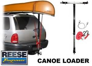 Canoe Towing Products Reese Towpower 7018100 Canoe Loader Hitch Mount Boat Rack